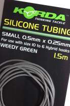 KORDA Silicone Tube 0,5mm, Green
