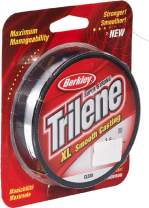 BERKLEY Trilene XL 0,32mm 270m clear, monofile Angelschnur, mono line