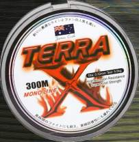 James Cook Terra mono 0,22mm 5,6kg ground 300m, monofile Angelschnur, mono line
