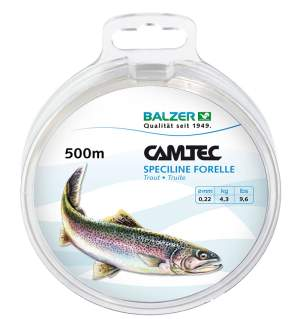Balzer Camtec Trout 0,22mm 500m