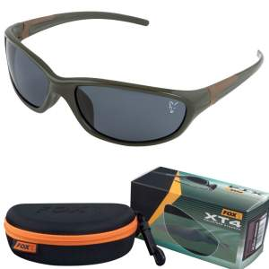 FOX Sunglasses XT4 Green Frame / Brown Lense
