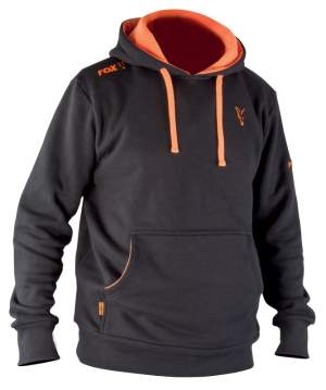 FOX Black/Orange Hoody