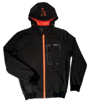 FOX Black / Orange Shofshell Hoodie