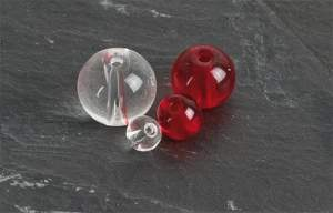 IC Class Beads clear 10mm