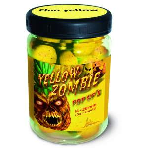QUANTUM Yellow Zombie Neon Pop Up's 16mm 75g