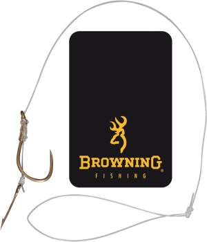 BROWNING Method-Vorfach Boilie-Nadel 10 0,22mm 8st