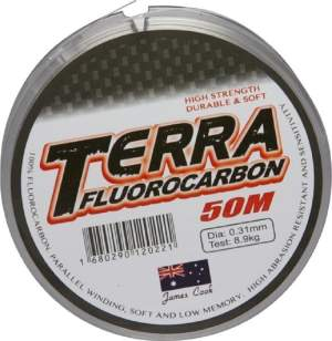 James Cook Terra fluorocarbon 0,33mm 10,4kg 50m