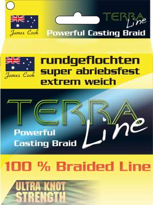 James Cook Terra Line 0,20mm 1000m fluo-yellow 12,7kg