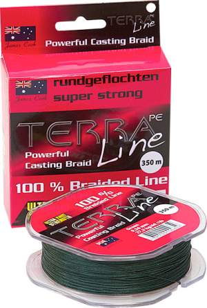 James Cook Terra PE Line 0,34mm 200m green 22,7kg