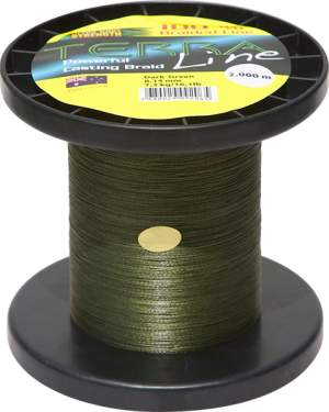 James Cook Terra Line 0,12mm 2000m dark-green 6,1kg