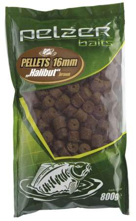 PELZER Pellets 800g 16mm brown Halibut