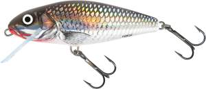 SALMO Perch 8cm Holographic Grey Shiner Floating