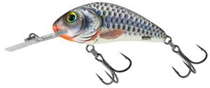 SALMO Rattlin'Hornet 6,5cm Silver Holographic Shad Floating