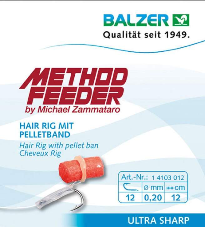 BALZER Method Feeder Rig 10 Pellet