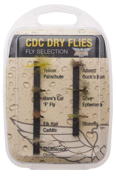 Fenwick CDC Dry Fly Fly Collection
