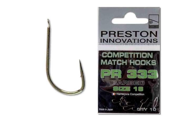 PRESTON Competition Hooks 333 Size 20