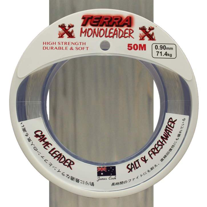 Terra Game Leader Mono clear 1,20mm 101,9kg 50m, monofile Vorfachschnur